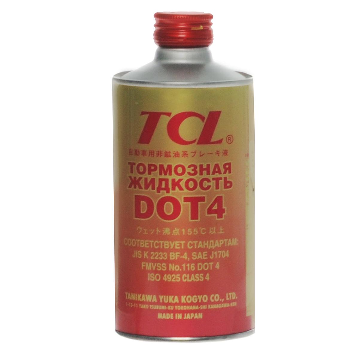 Жидкость тормозная TCL DOT4, 355 мл