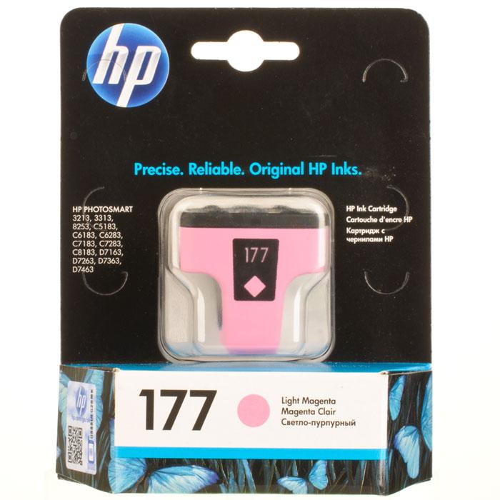 Картридж HP 177 (C8775HE), светло-пурпурный цена