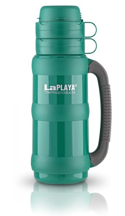 Термос LaPlaya Traditional 35, цвет: зеленый, 1 л