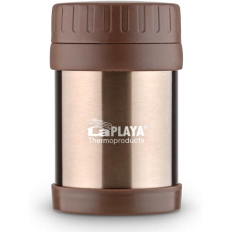Термос для еды LaPlaya Food Container, цвет: коричневый, 350 мл