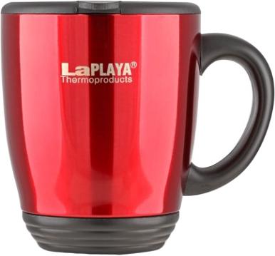 Кружка-термос LaPlaya DFD 2040, цвет: красный, 0,44 л
