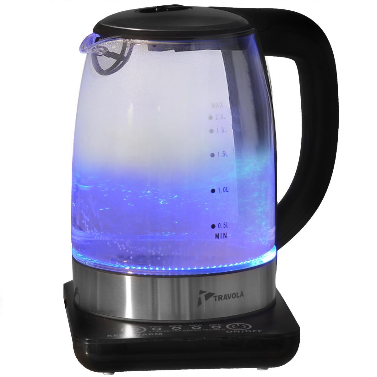 Travola GK-2001T <b>чайник электрический</b> с подсветкой — купить в ...