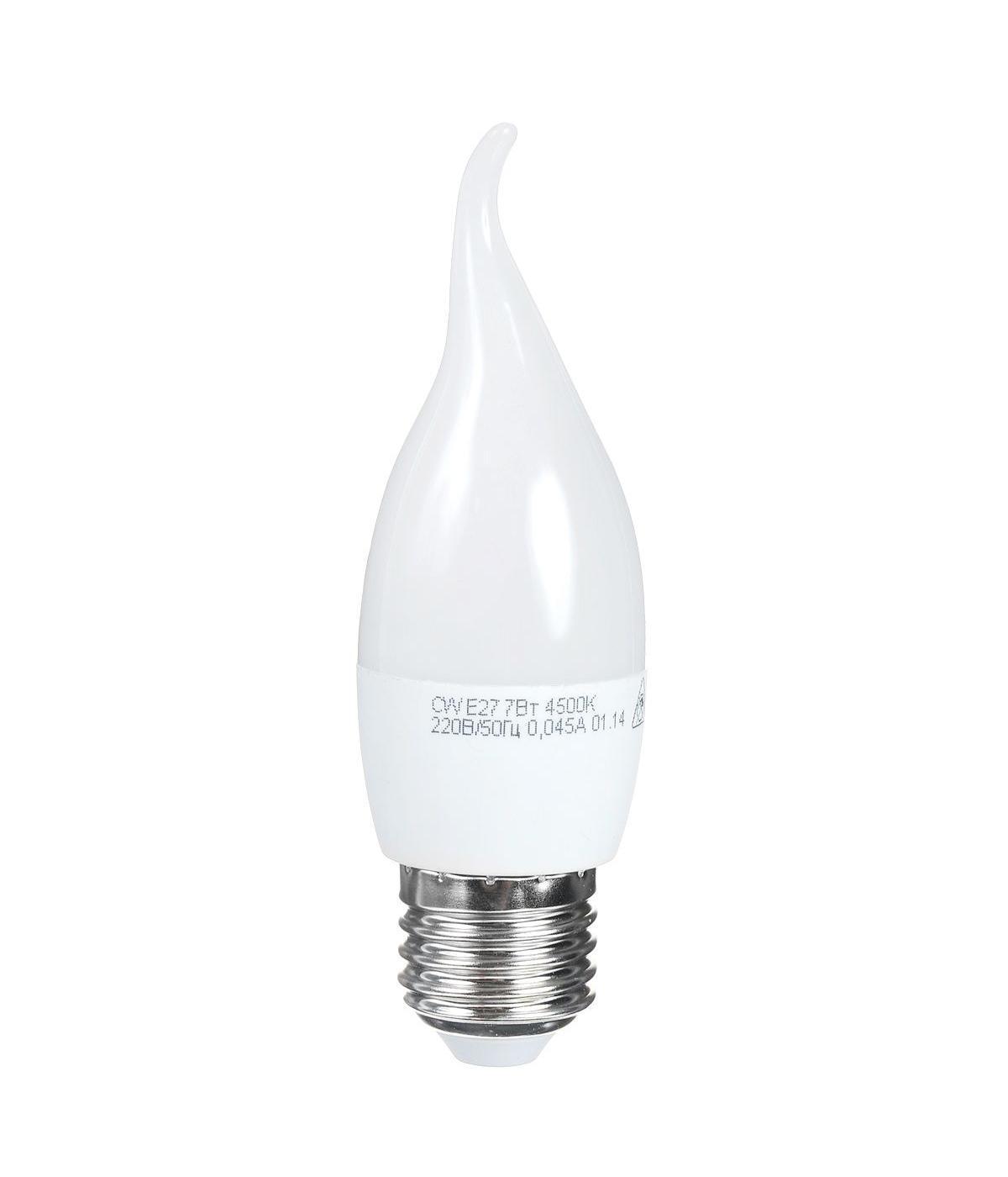 Светодиодная лампа Kosmos, белый свет, цоколь E27, 7W, 220V. Lksm_LED7wCWE2745