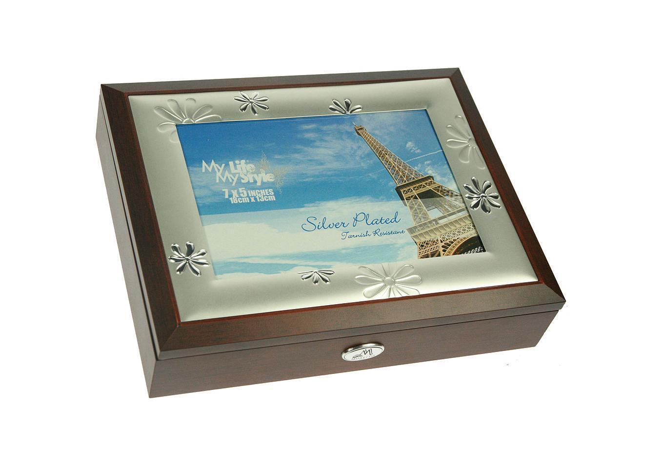 Шкатулка-фоторамка ювелирная Moretto, 24 х 19 х 5 см 139555 шкатулка фоторамка ювелирная русские подарки