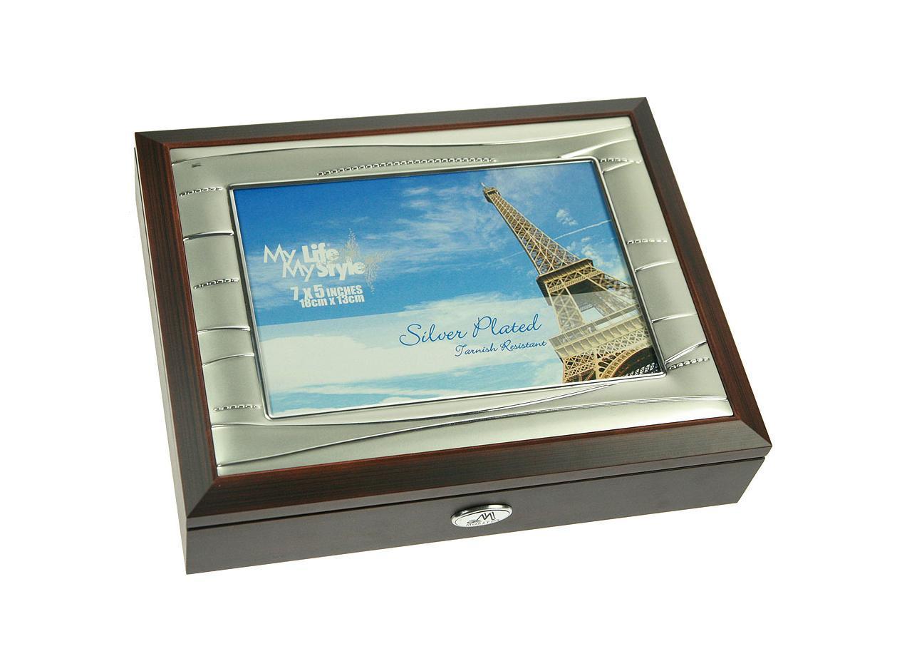 Шкатулка-фоторамка ювелирная Moretto, 24 х 19 х 5 см 139553 шкатулка фоторамка ювелирная русские подарки