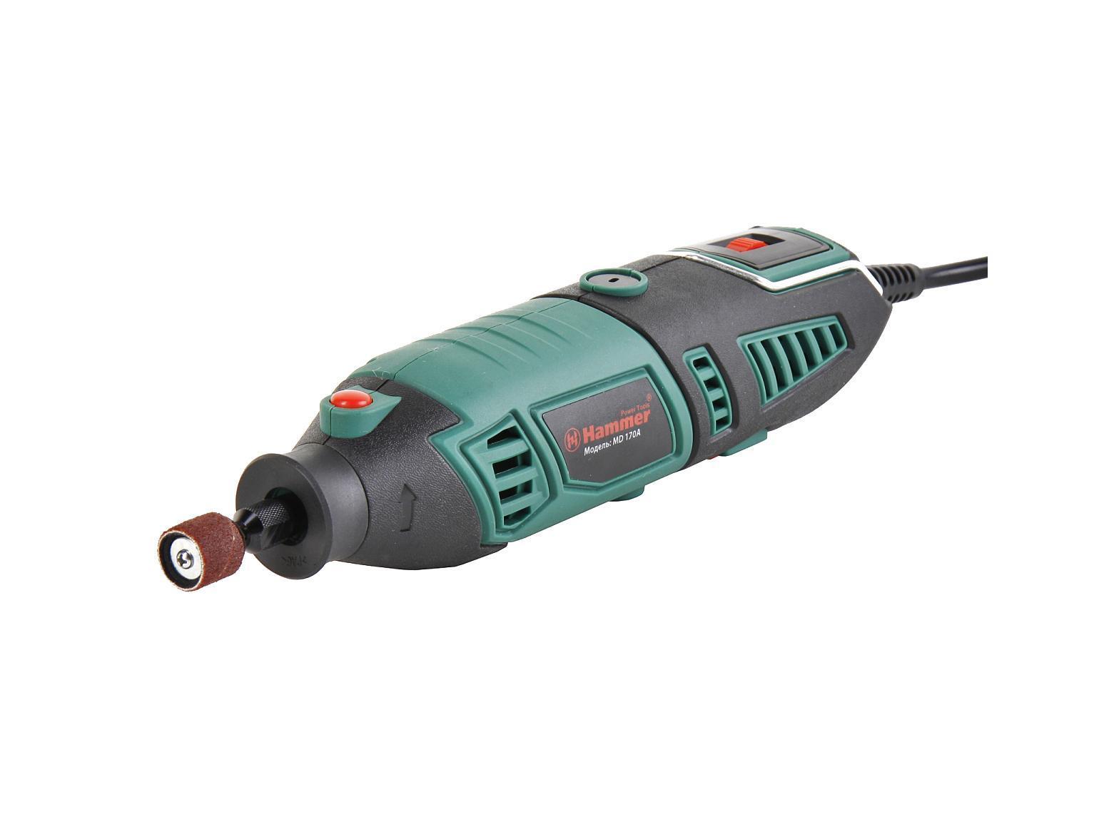Hammer MD170A дрель-мини гравер hammer flex md170a [43265]