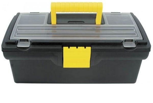 Ящик для инструментов пластиковый FIT, 40,5 см х 21,5 см х 16 см ящик универсальный econova кристалл 55 5 см х 39 см х 19 см
