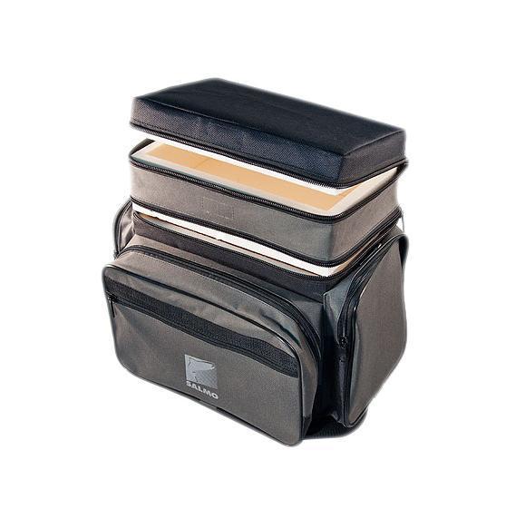 Ящик-рюкзак рыболовный Salmo, зимний, 2 яруса цена