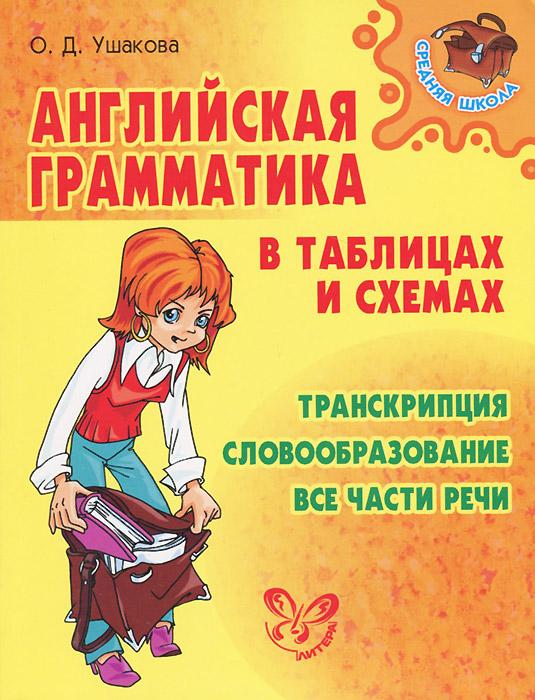 О. Д. Ушакова Английская грамматика в таблицах и схемах