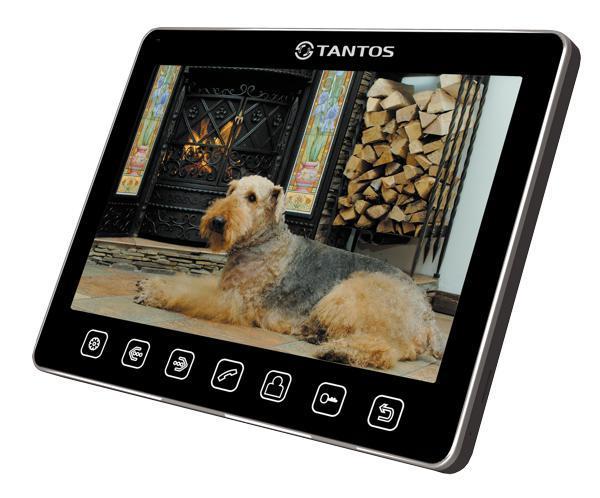 Tantos Tango, Black монитор видеодомофона монитор tantos lilu lux