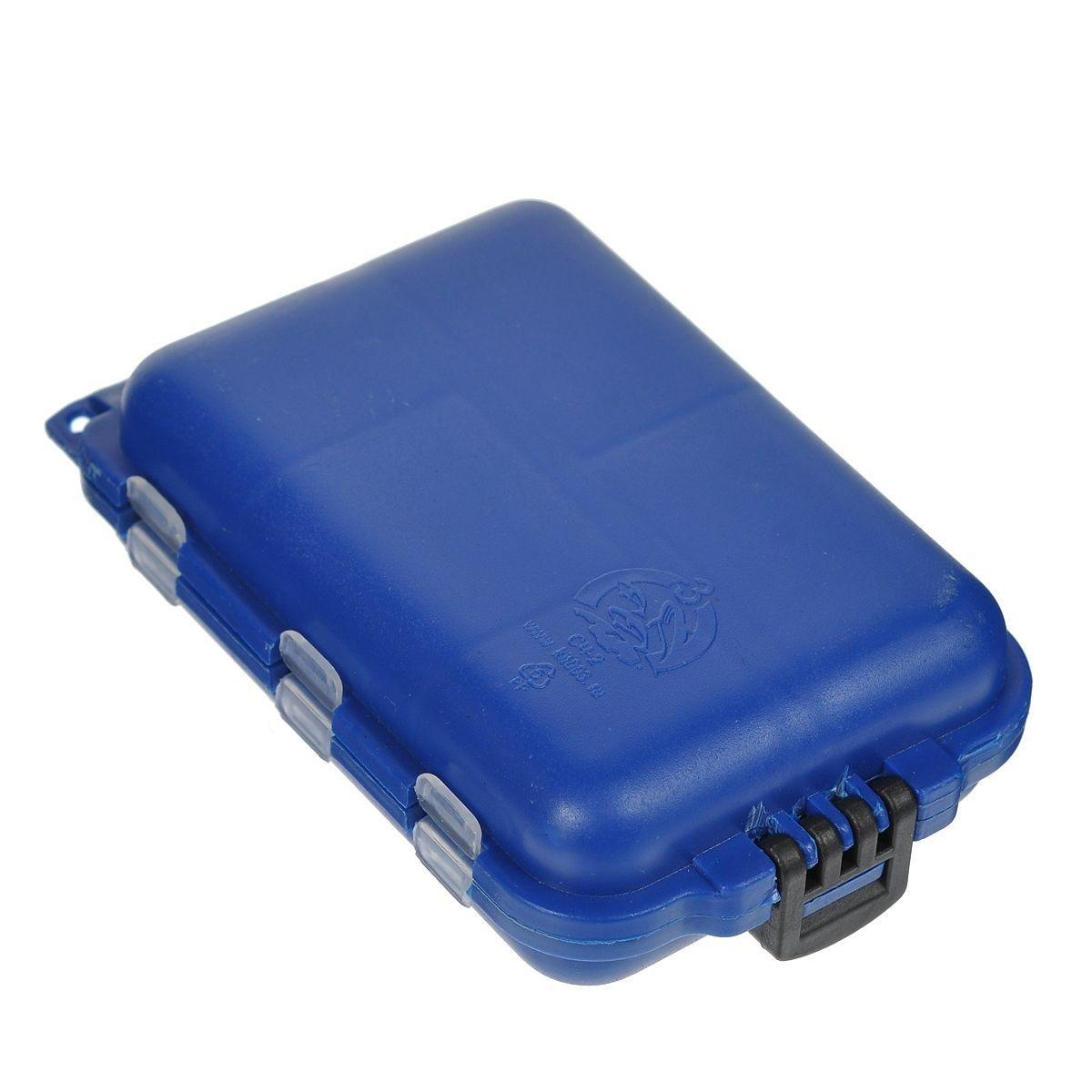 Органайзер для мелочей, двухсторонний, 9,5 х 6 х 2,5 см, цвет в ассортименте 679531 коробка для приманок три кита сч 5