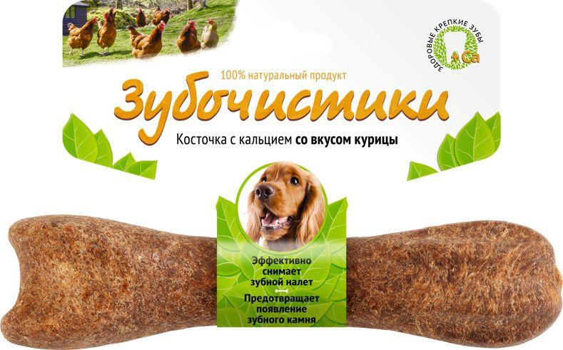 "Лакомство ""Зубочистики"" для собак средних пород, с курицей"