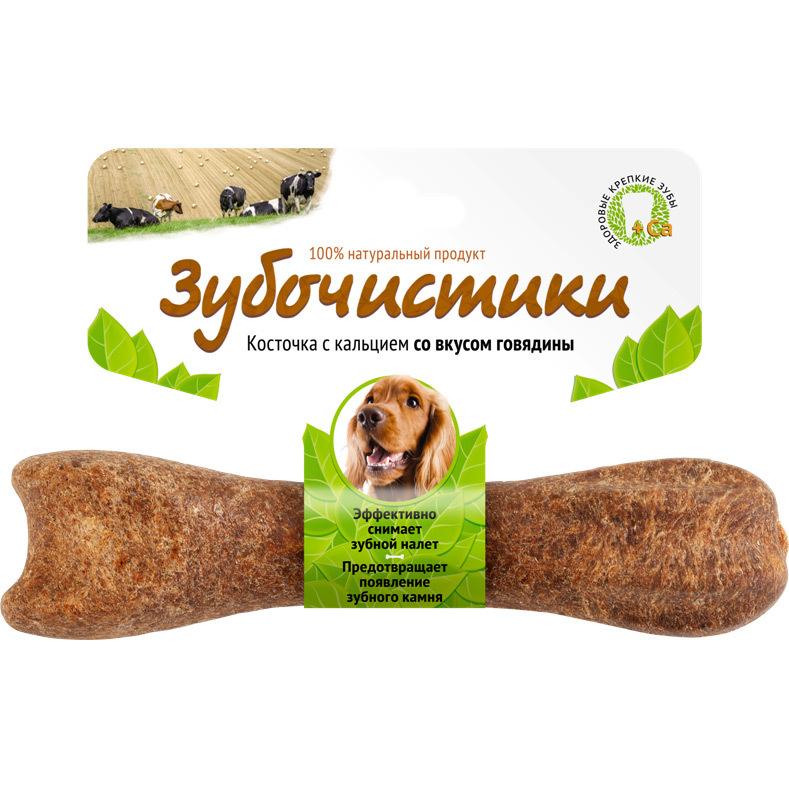 Лакомство Зубочистики для собак средних пород, с говядиной 607 2015