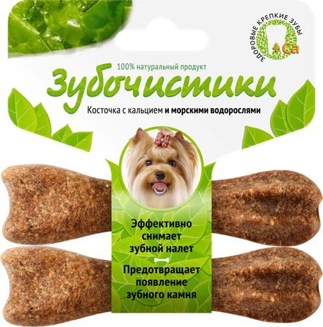 Лакомство Зубочистики для собак мелких пород, с морскими водорослями, 2 шт 607 2015
