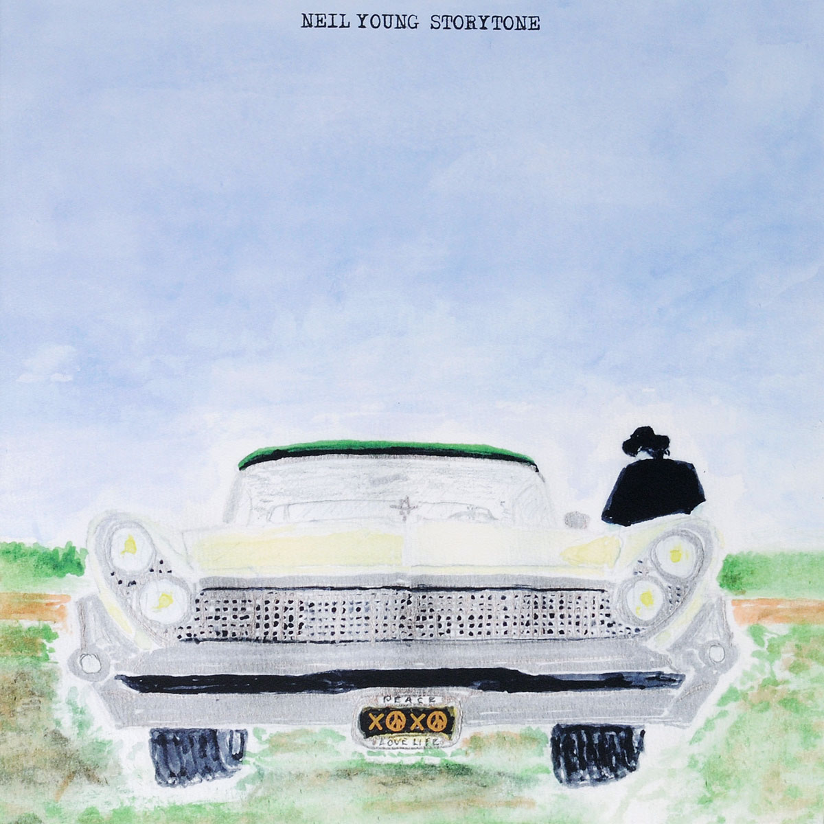 Нил Янг Neil Young. Storytone (2 LP) lp
