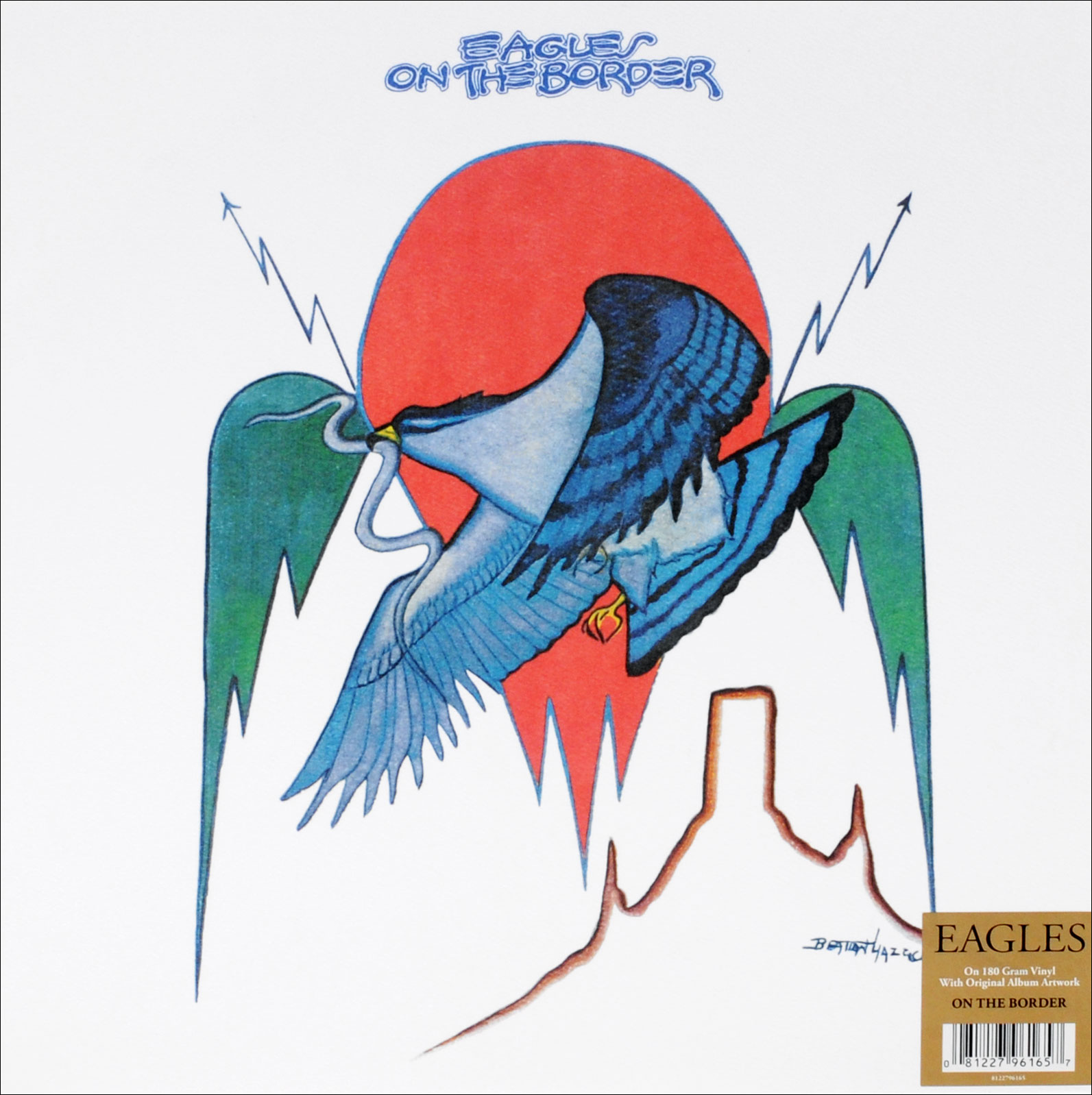 The Eagles Eagles. On The Border (LP) eagles – long road out of eden 2 lp