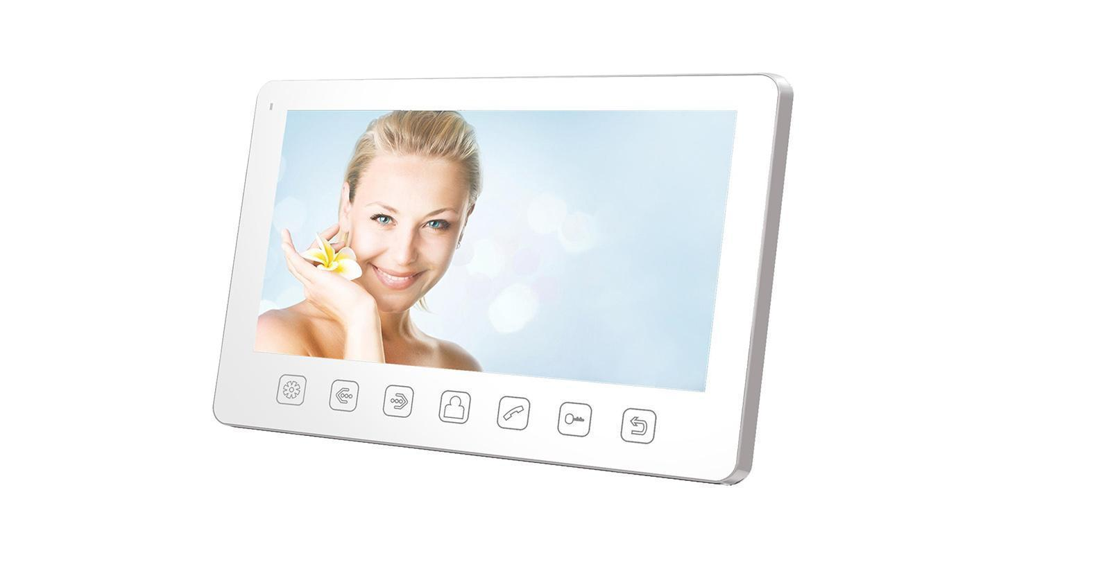 Tantos Amelie Slim, White монитор видеодомофона видеорегистратор tantos