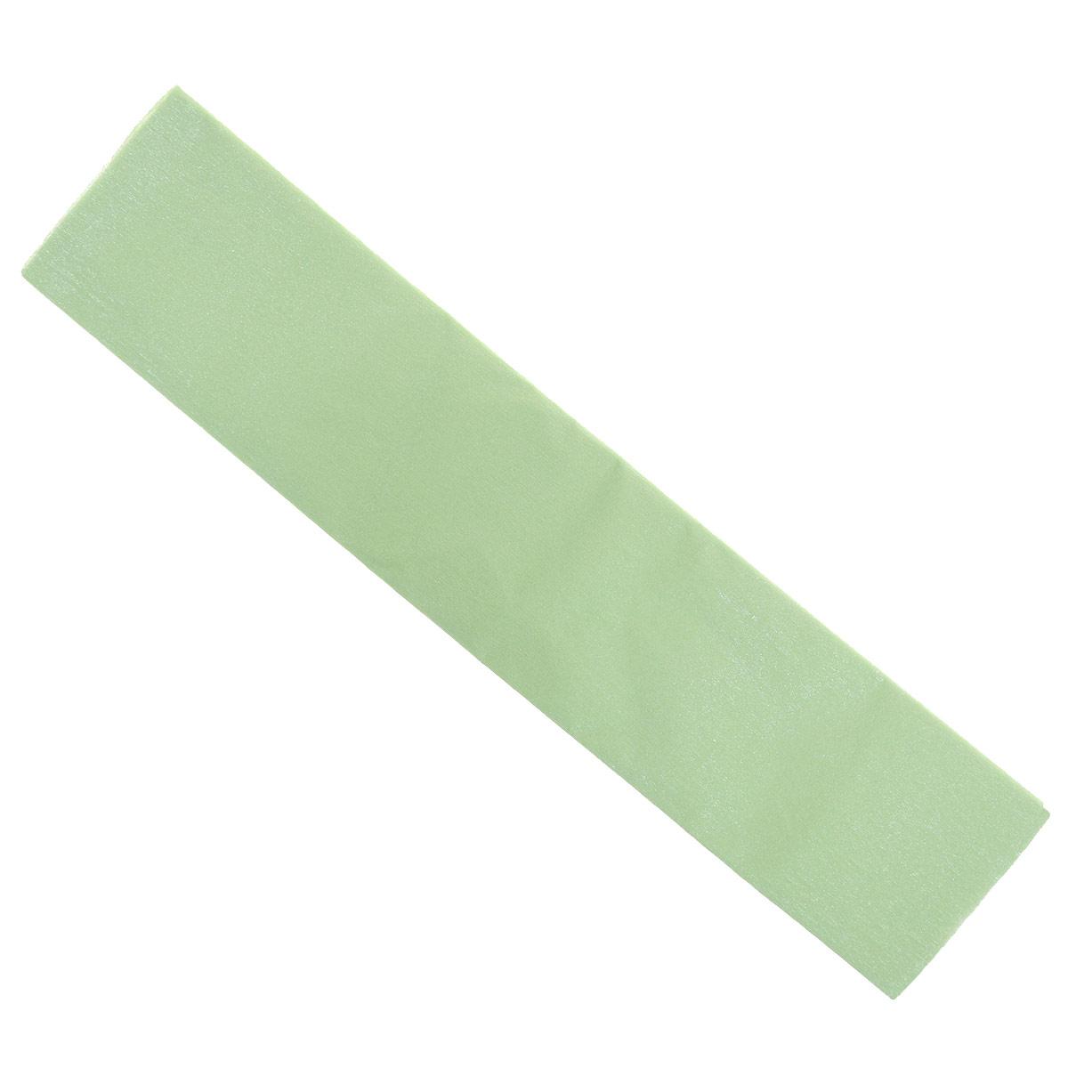 Фото - Крепированная бумага Hatber, перламутровая, цвет: светло-зеленый, 5 см х 25 см мочалка банные штучки королевский пилинг рукавица 41291 светло бежевый 14 5 х 25 см