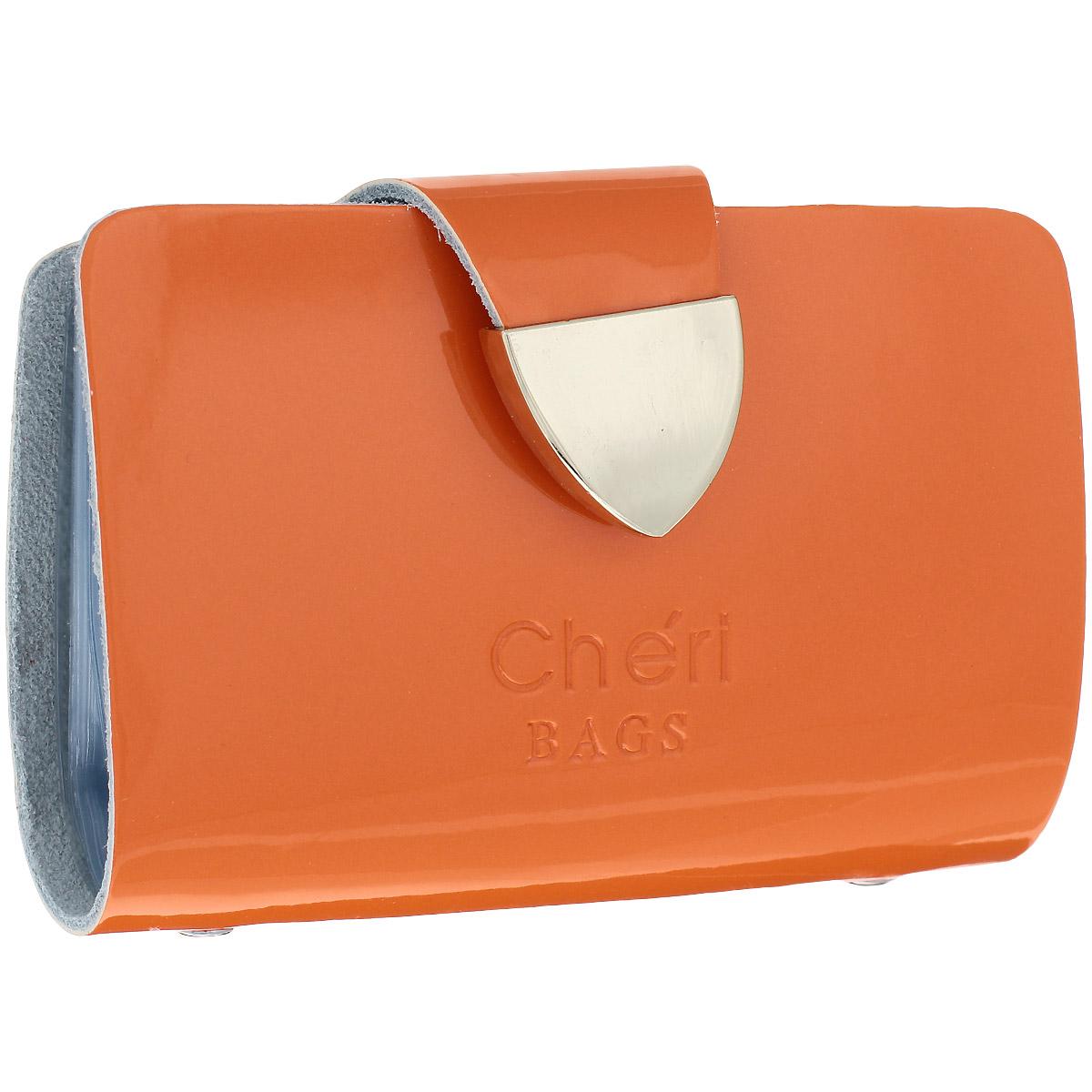 Визитница Cheribags, цвет: оранжевый. V-0482-22