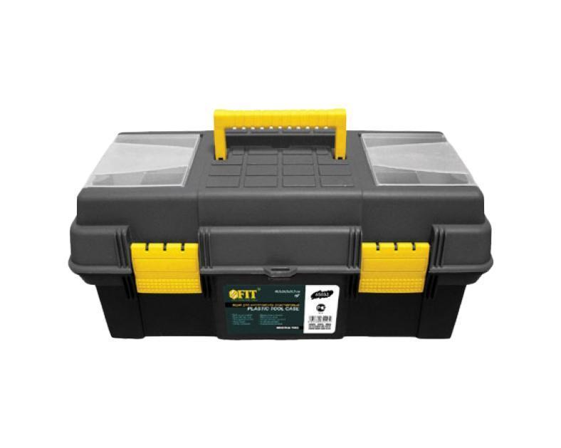 Ящик для инструментов пластиковый FIT, 48,5 х 24,5 х 21,5 см ящик универсальный econova кристалл 55 5 см х 39 см х 19 см