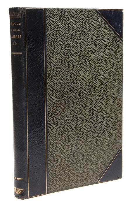 Langres-Revue. Chronique de la ville de Langres en 1895 ручка langres