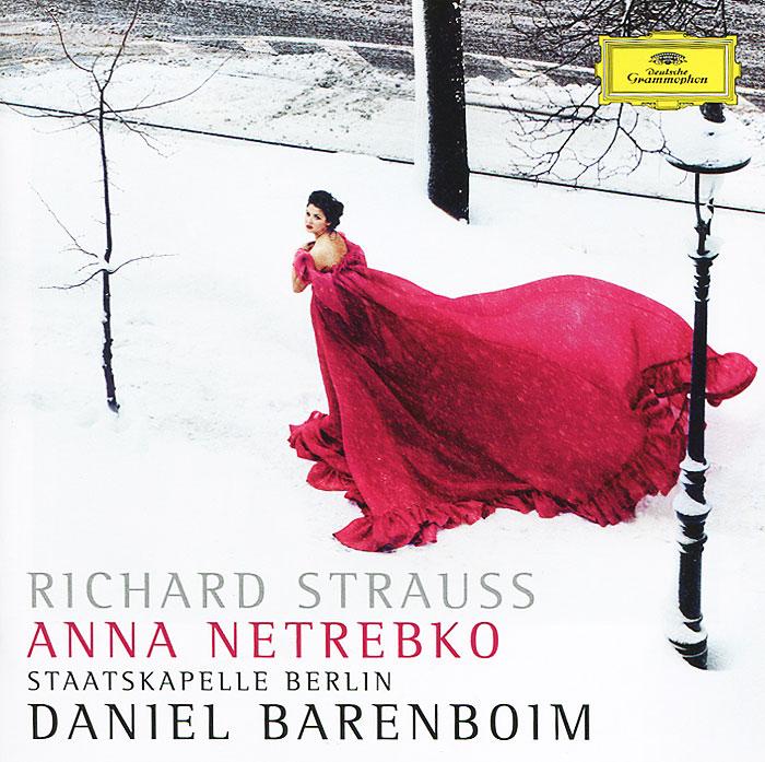 лучшая цена Анна Нетребко Anna Netrebko. Daniel Barenboim. Richard Strauss. Vier Letzte Lieder / Ein Heldenleben Op. 40