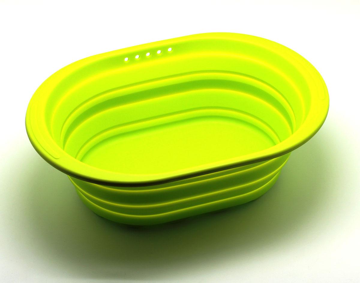 Контейнер складаной Atlantis, цвет: зеленый, 38 х 27 х 2,7 см. SC-SB-017-G кухонная принадлежность atlantis vs2r 32 контейнер