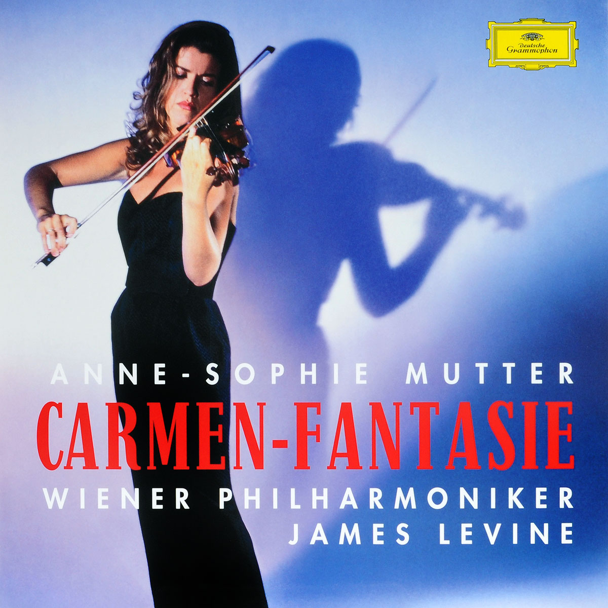 Анна-Софи Муттер,Wiener Philharmoniker,Джеймс Левайн Anne-Sophie Mutter, Wiener Philharmoniker, James Levine. Carmen-Fantasie (LP) анна софи муттер ламберт оркис anne sophie mutter lambert orkis beethoven die violinsonaten 4 cd
