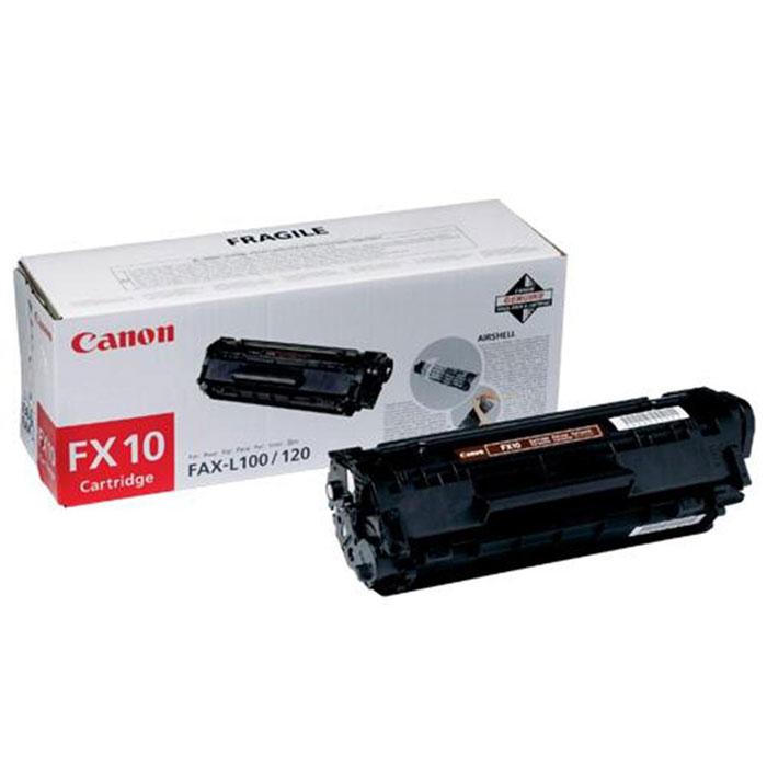 Картридж Canon FX-10, черный, для лазерного принтера, оригинал