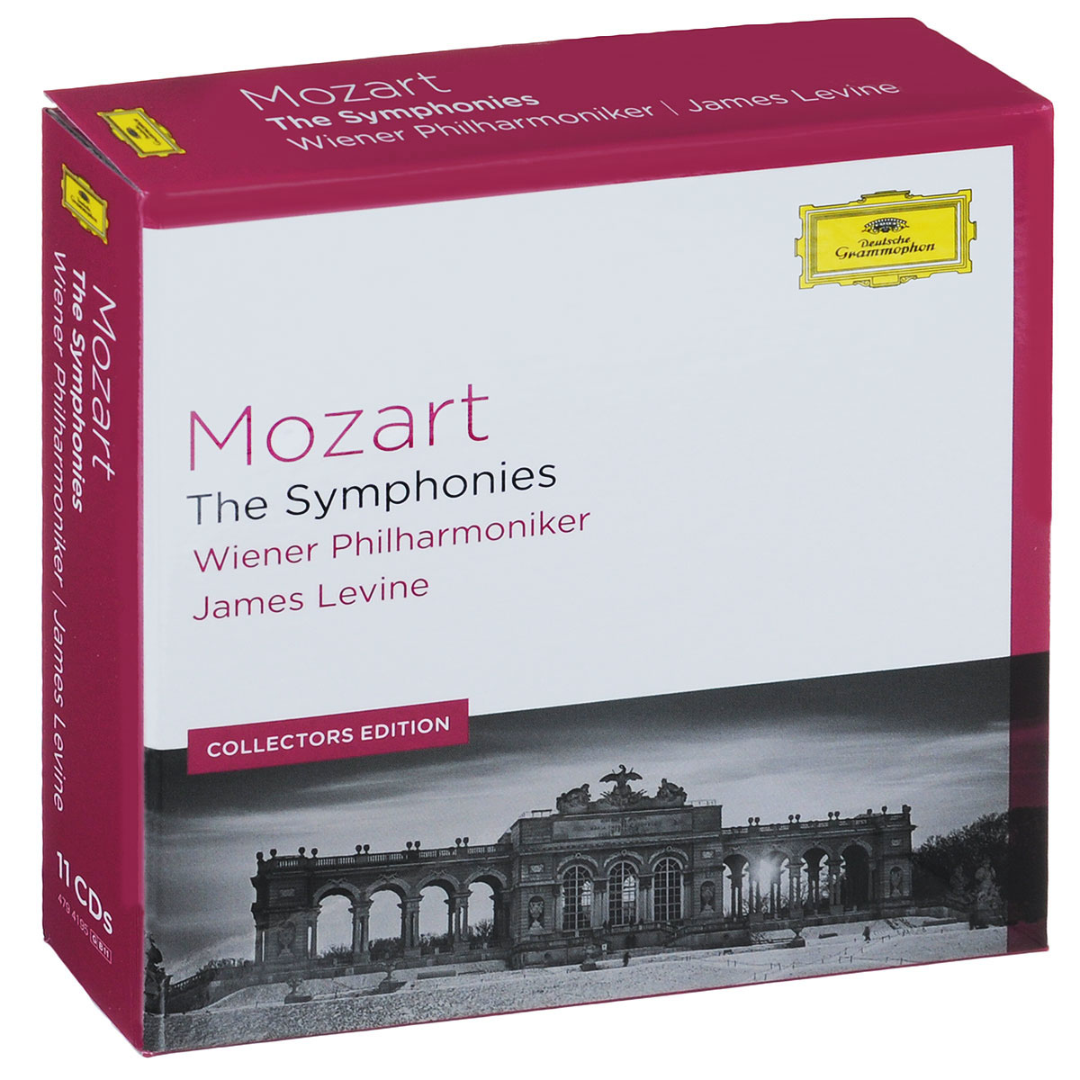 Wiener Philharmoniker James Levine. Wiener Philharmoniker. Mozart. The Symphonies (Collectors Edition) (11 CD) strauss james levine elektra