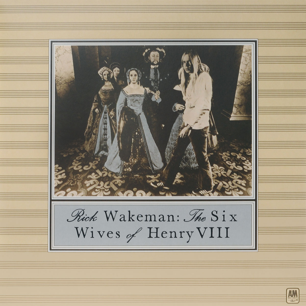 henry viii Рик Уэйкман Rick Wakeman. The Six Wives Of Henry VIII (LP)