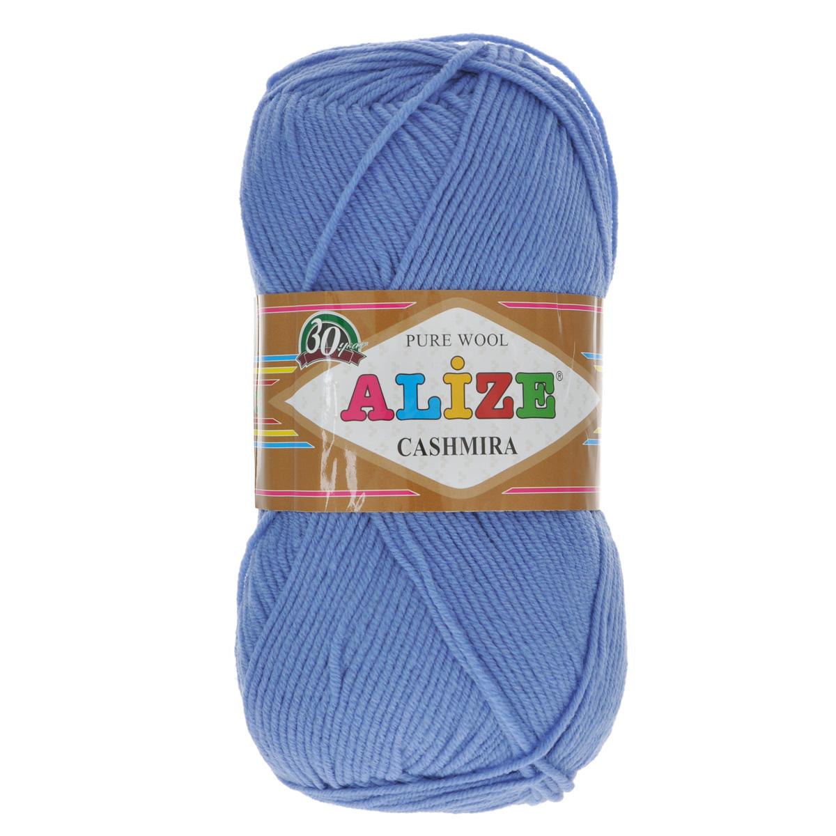 Пряжа для вязания Alize Cashmira, цвет: темно-синий (303), 300 м, 100 г, 5 шт цена
