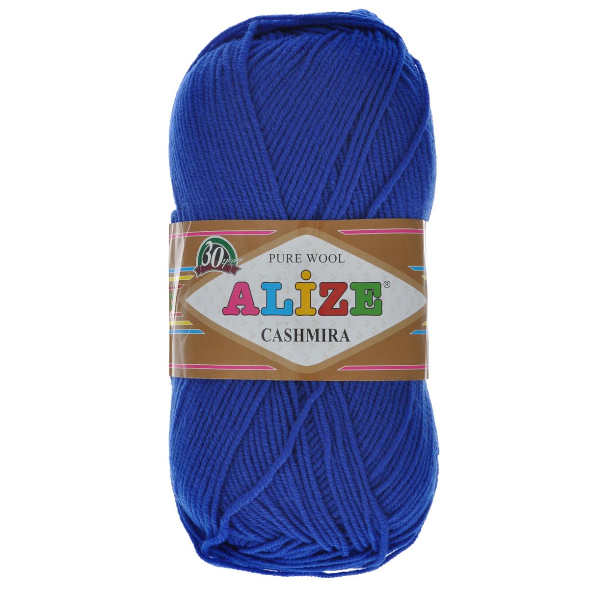 Пряжа для вязания Alize Cashmira, цвет: василек (141), 300 м, 100 г, 5 шт цена