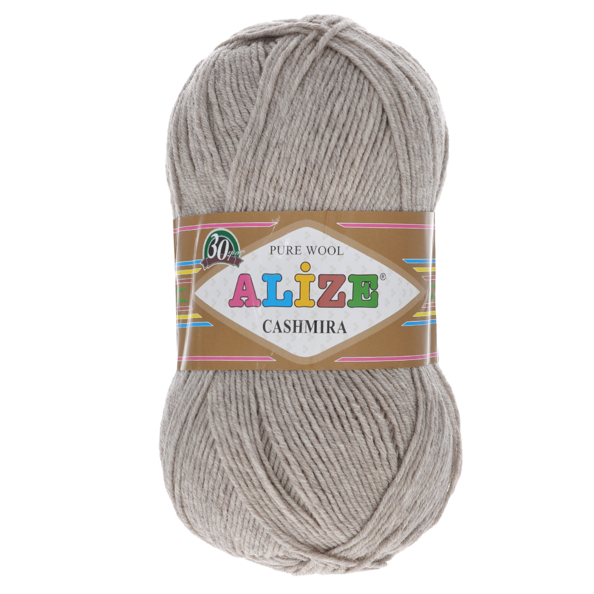 Пряжа для вязания Alize Cashmira, цвет: бежевый (152), 300 м, 100 г, 5 шт цена
