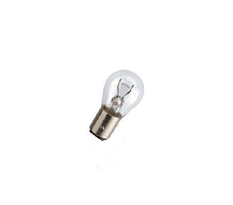 """Лампа автомобильная галогенная сигнальная Philips """"LongLife EcoVision"""", цоколь P21/5W (BAY15d), 12V, 21/5W, 2 шт"""