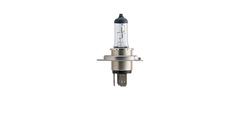 """Лампа автомобильная галогенная Philips """"Vision"""", для фар, цоколь H4 (P43t), 12V, 60/55W"""