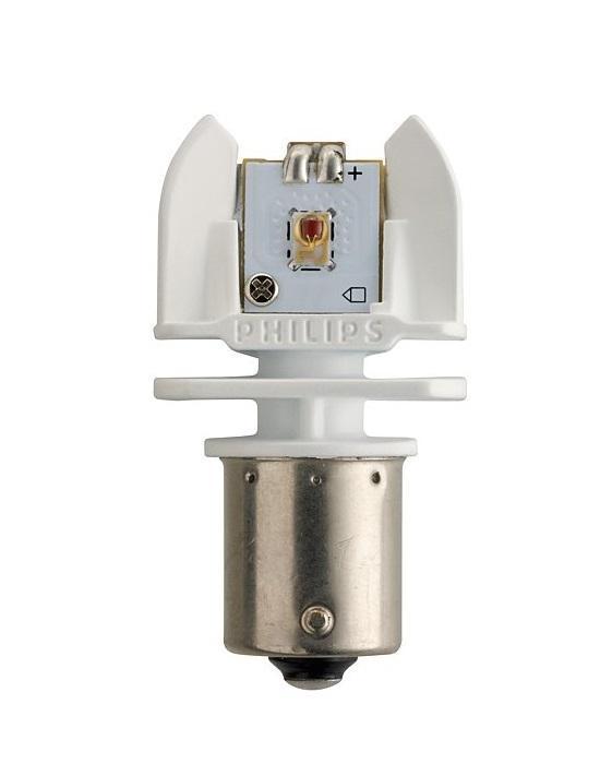 "Лампа автомобильная светодиодная сигнальная Philips ""X-tremeVision LED"", цоколь BAY15d, 12V, 2/0,3W, 2 шт"