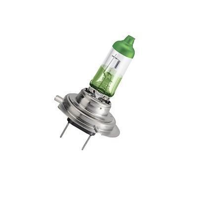 """Лампа автомобильная галогенная Philips """"ColorVision Green"""", для фар, цоколь H7 (PX26d), 12V, 55W, 2 шт"""