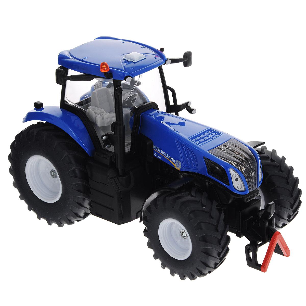 Siku Трактор New Holland T8.390 siku трактор new holland t7070 с опрыскивателем kverneland