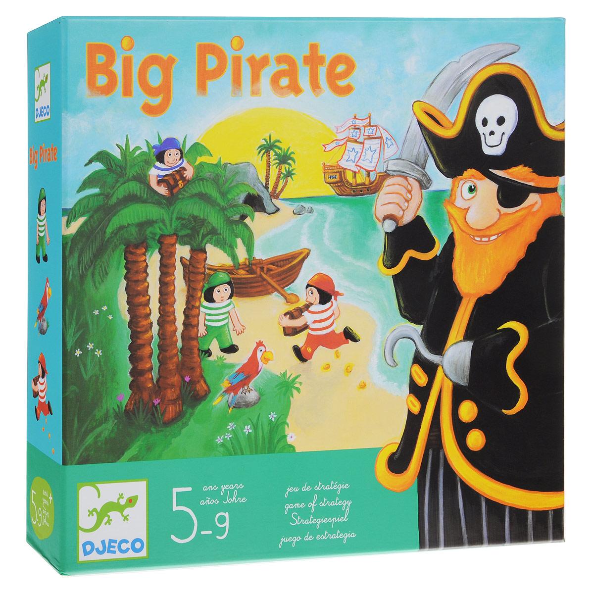 Djeco Обучающая игра Большой пират настольная игра djeco пират 05113 page 3
