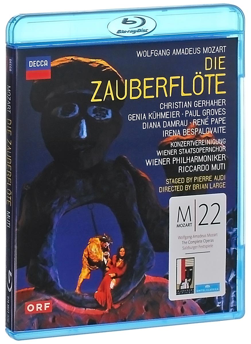 Wolfgang Amadeus Mozart: Die Zauberflote (Blu-ray) mozart wolfgang sawallisch die zauberflote