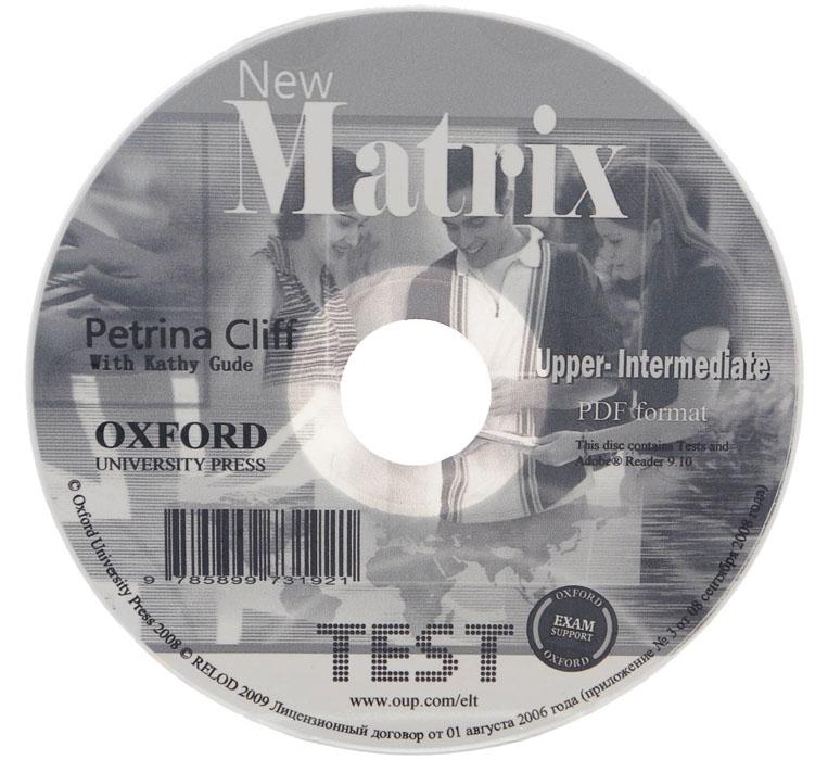 New Matrix: Upper-Intermediate Test (курс в формате PDF) аудиокниги upper intermediate
