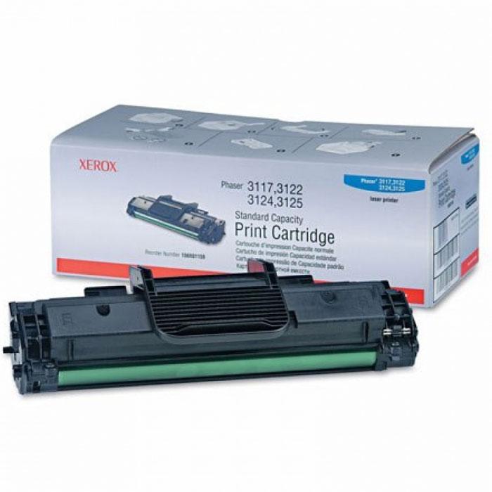 Картридж Xerox 106R01159, черный, для лазерного принтера, оригинал картридж xerox 013r00621 черный оригинал