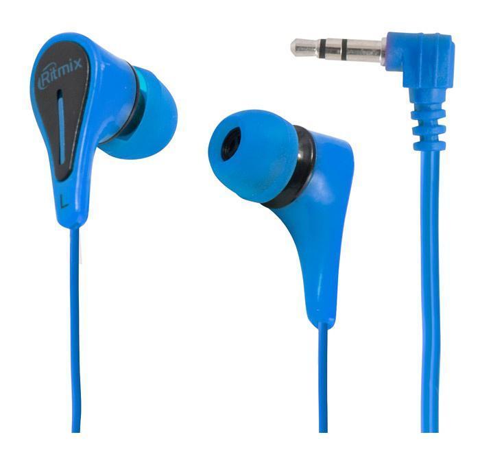Ritmix RH-012, Blue наушники беспроводные наушники ritmix rh 445 cbth черный