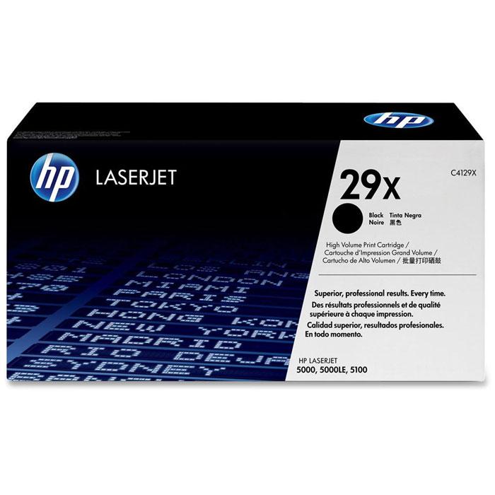 Картридж HP 29X, черный, для лазерного принтера, оригинал цена 2017