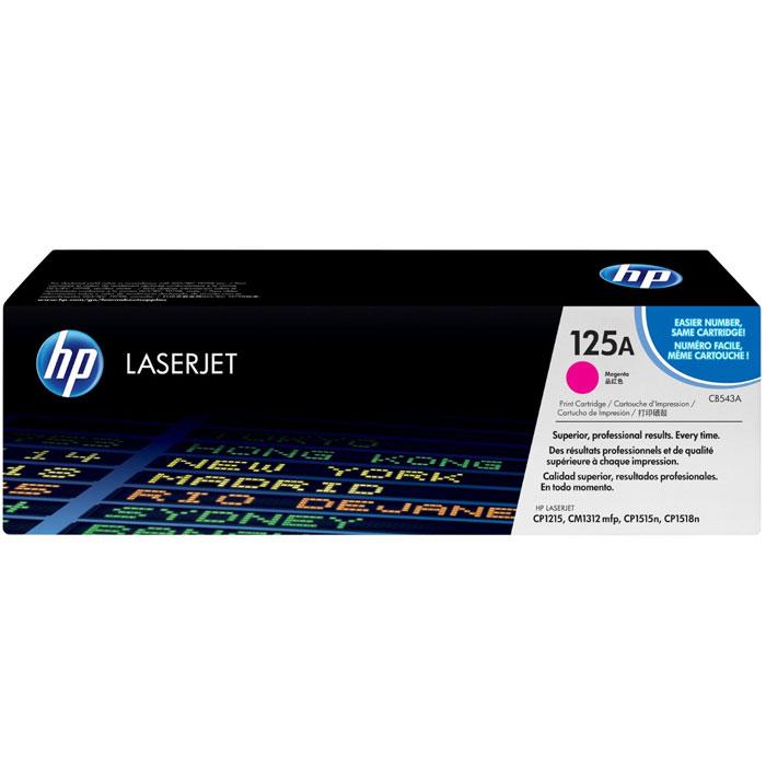 Картридж HP 125A, пурпурный, для лазерного принтера