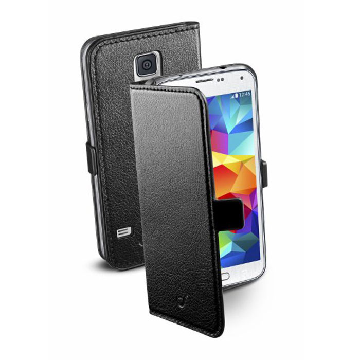 цена на Cellular Line Book Essential чехол для Samsung Galaxy S5 (20686), Black