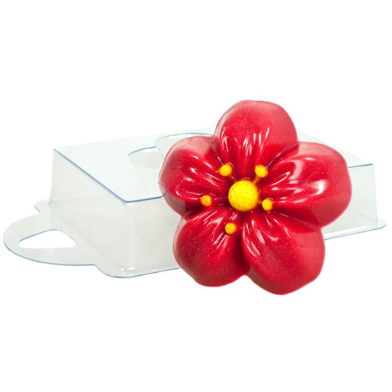 Форма для литья Лютик, пластиковая, 7 х 7 х 2,5 см форма для литья танк пластиковая 16 х 11 х 2 5 см