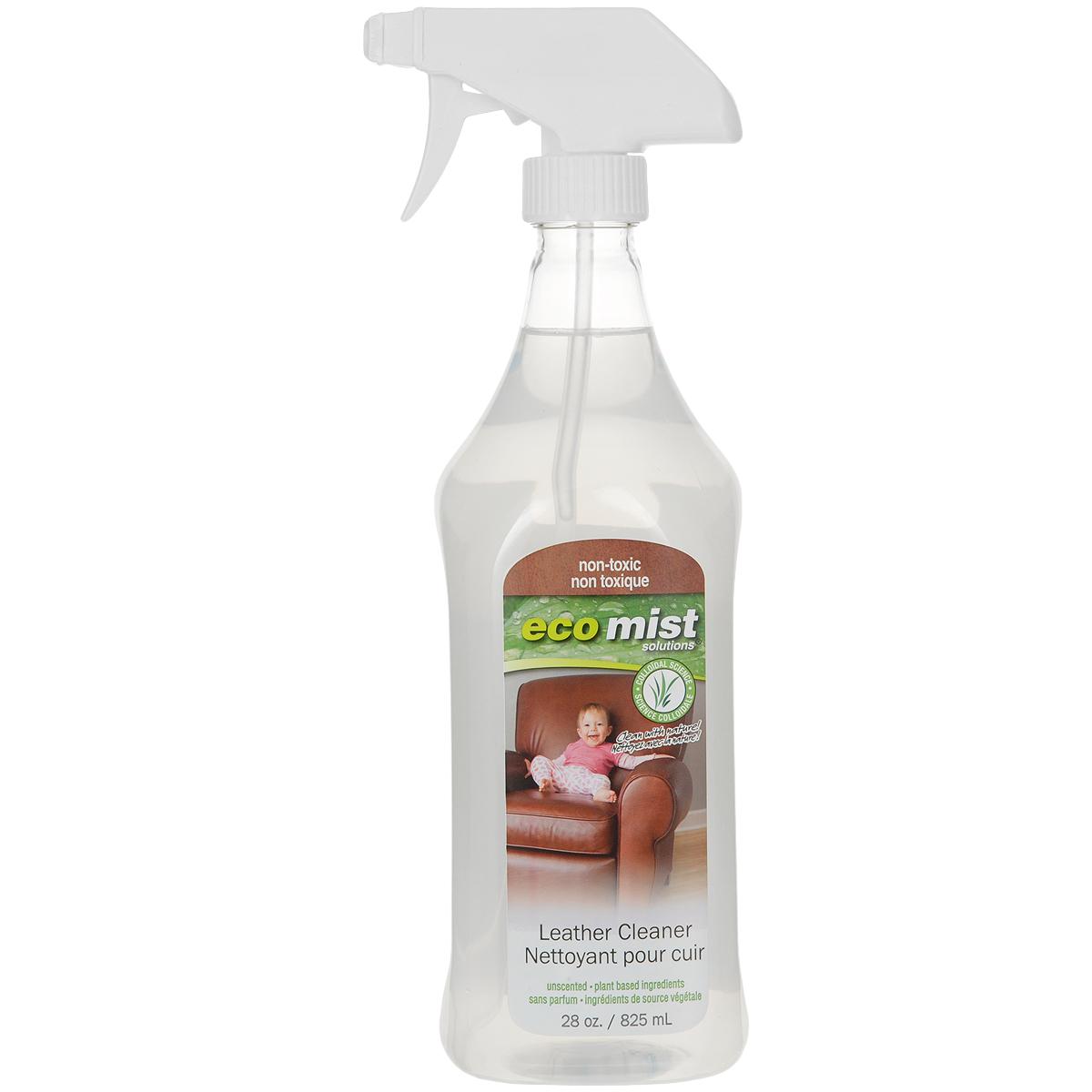 Средство для чистки натуральной кожи Eco Mist, 825 мл средство для удаления жира eco mist 825 мл