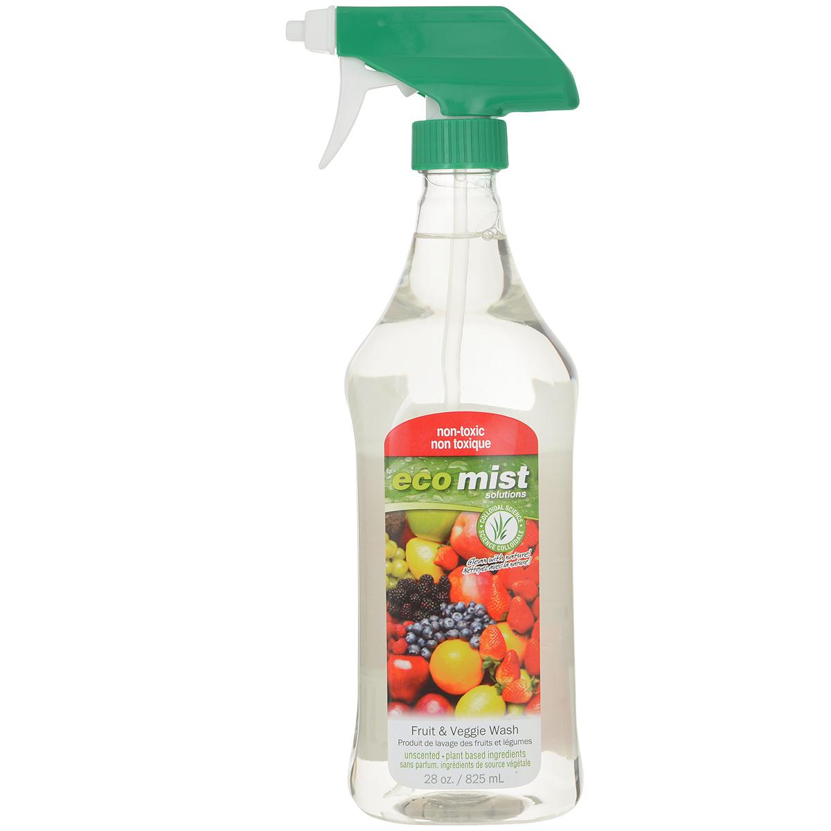 Средство для мытья фруктов и овощей Eco Mist, 825 мл средство для удаления жира eco mist 825 мл